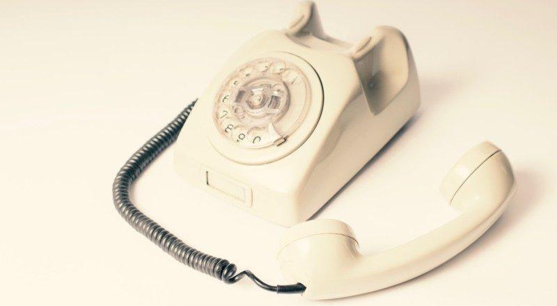 予約の電話